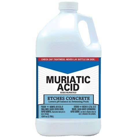 muriatic acid jasco muriatic acid