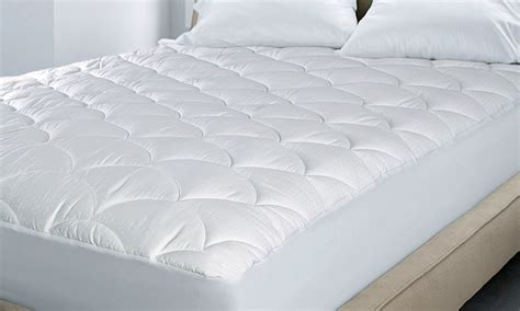 hotel mattress pad hotel grand cotton mattress pad groupon goods