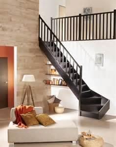 Escalier Hetre Lapeyre by Am 233 Nager Un Escalier Chez Soi Galerie Photos De Dossier