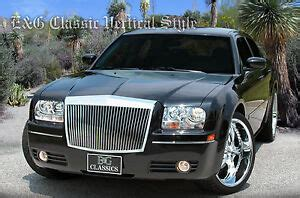 old car repair manuals 2009 chrysler 300 spare parts catalogs 2005 2006 2007 2008 2009 2010 chrysler 300 300c classic grille grill e g ebay