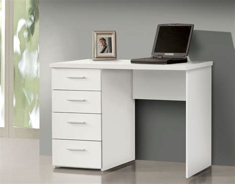 white writing desk with drawers pulton simple small white desk with drawers by
