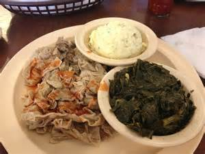 Collard Greens and Chitterlings