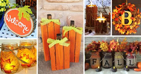 fall craft decorations 28 best diy fall craft ideas and decorations for 2018