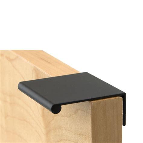 berenson 1 3 4 inch length satin black finger pull 1056