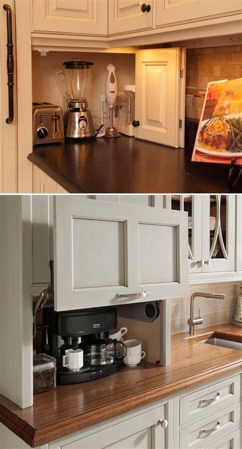 Build a DIY friendly appliance garage to help you get rid