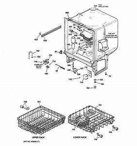 Hotpoint Model Hda2000g02ww Dishwasher Genuine Parts