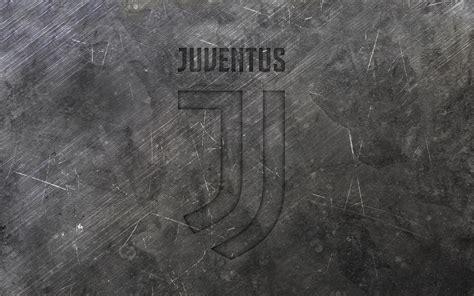Download wallpapers Juventus, new logo, metal texture, new ...