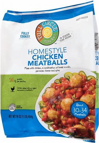 Meatballs Homestyle Circle Chicken Market Nutrition Ingredients