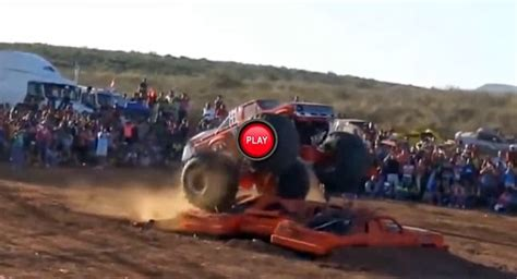 monster truck videos crashes rant monster truck crashes into crowd in mexico