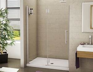 porte de douche platinum lexus 48 un cote pour With installation porte de douche