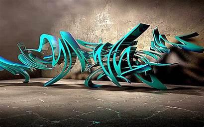 Graffiti 3d Dj Rocket Desktop Wallpapers Wide