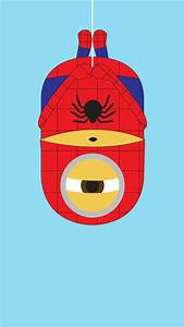 2014 spider-man minion iphone 6 plus wallpaper from ...