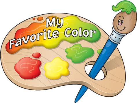 what s my favorite color my favourite colour is free images at clker vector