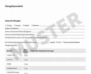 übergabeprotokoll Wohnung Vermieter : bergabeprotokoll kostenloses muster f r wohnungen ~ A.2002-acura-tl-radio.info Haus und Dekorationen