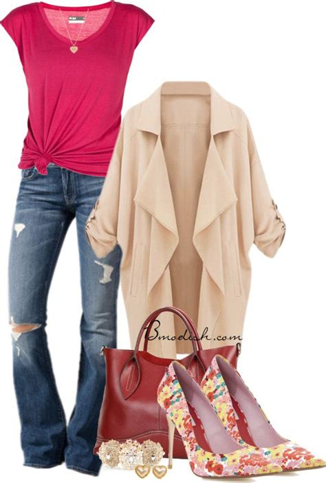 30 Cute and Beautiful Everyday Outfit Polyvore Combinations - Be Modish