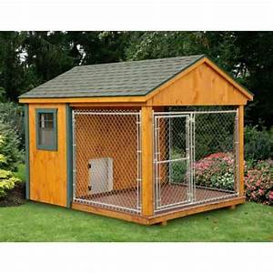 amish cedar heated dog kennel 8 x 10 heated dog With pinecraft dog kennels