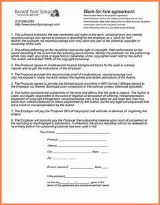 Work made for hire agreement template 28 images work for Work made for hire agreement template