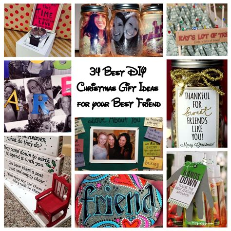 34 best diy christmas gift ideas for your best friend