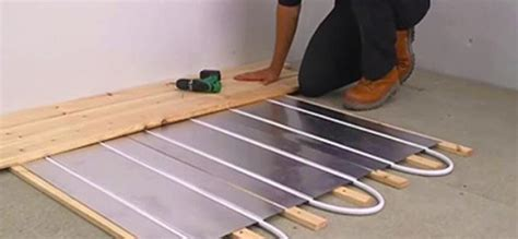 Engineered Wood Flooring And Underfloor Heating (ufh Kitchen Hardwood Floor Ideas Installing Mosaic Backsplash In Brick Red Tile Effect Laminate Flooring Ceramic Wet Decals