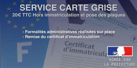 service carte grise garage srvo - Carte Grise Garage