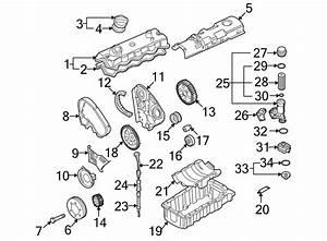 Volkswagen Beetle Engine Timing Belt Idler  1998