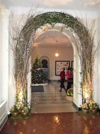 Christmas Party Entrance Reception Visitor Foyer Lower