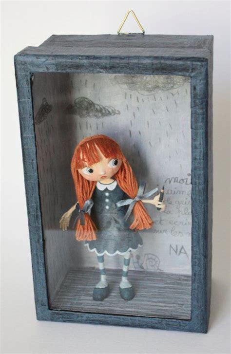 shoe box crafts  kids  girl   glue gun