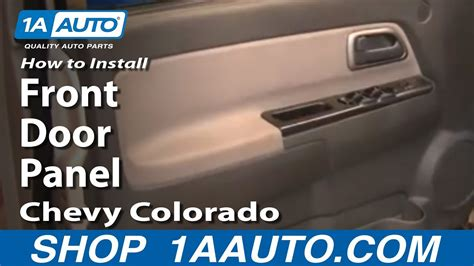 install replace remove front door panel chevy