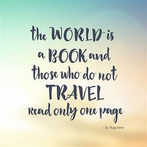 Our Favourite Travel Quotes For World Book Day