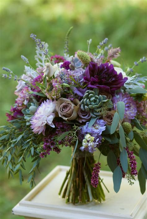 Best 10 Plum Wedding Flowers Ideas On Pinterest