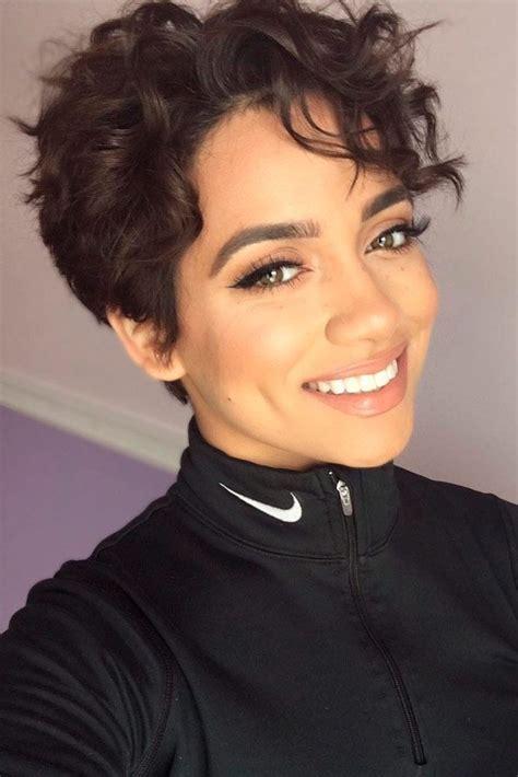 sassy short curly hairstyles  women   http