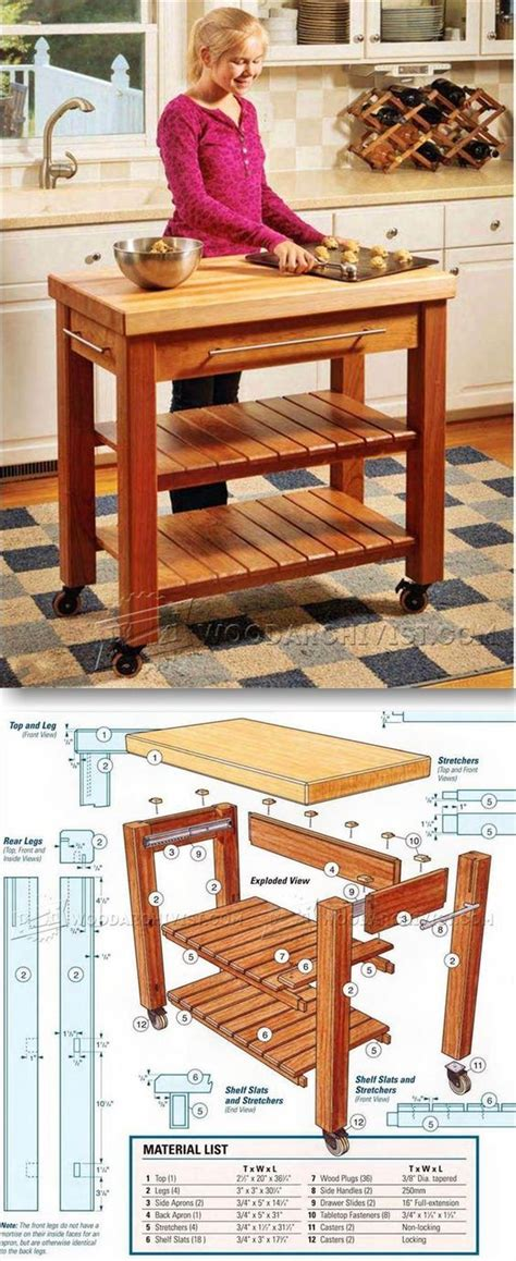 how to build a portable kitchen island best 25 portable kitchen island ideas on