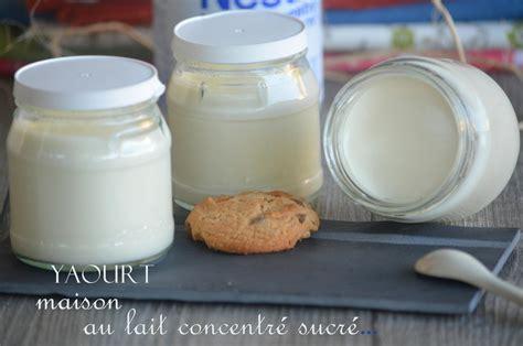 yaourts maison au lait concentr 233 sucr 233 tr 232 s cr 233 meux le