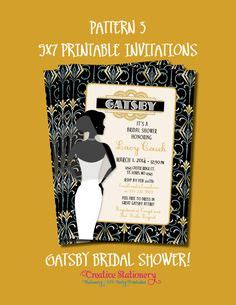 gatsby invitation images great gatsby party