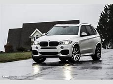Alpine White BMW X5 On VMR 702 Wheels