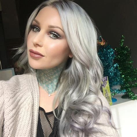 ombre hair styles 17 best ideas about permanent silver hair dye on 8320