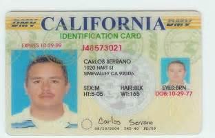 California Fake ID Drivers License