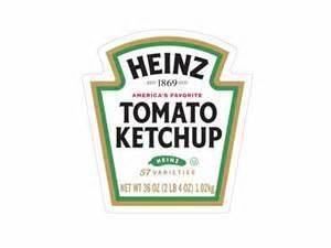 heinz tomato ketchup dollhouse miniature printable label With heinz label template