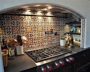 Fliesen Spanischer Stil : pin von cristi reifschneider auf kitchen pinterest diy k che traumk chen und mediterran ~ Sanjose-hotels-ca.com Haus und Dekorationen