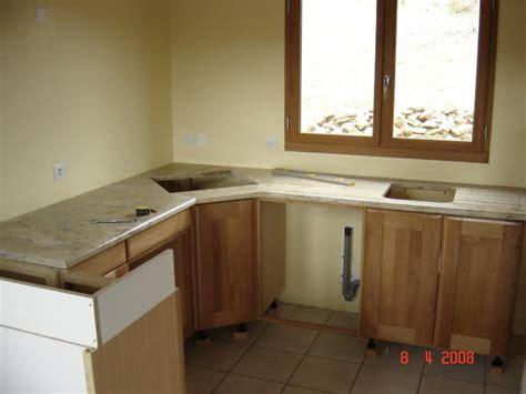 poser un plan de travail cuisine fixation plan de travail cuisine fixation du0027un meuble