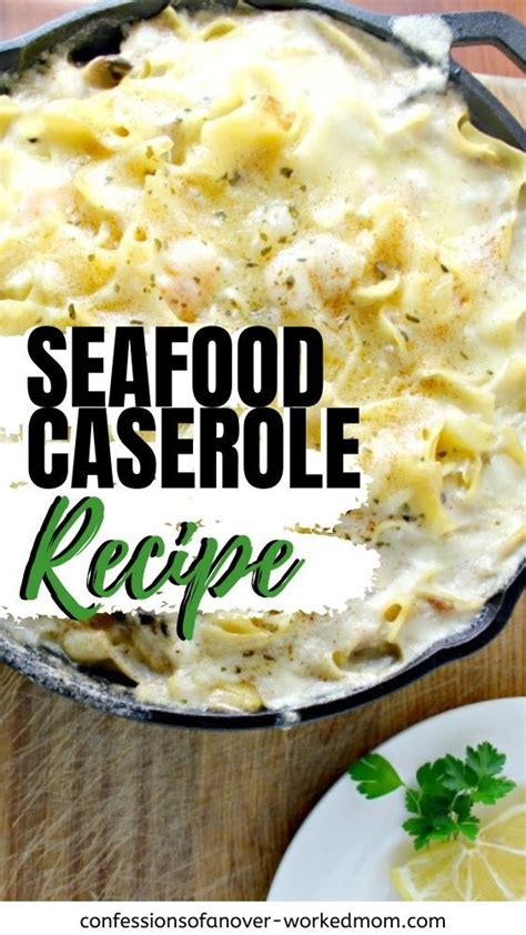 Become a member, post a recipe and get free nutritional seafood casseroles. Are you looking for a new seafood casserole recipe that is ...