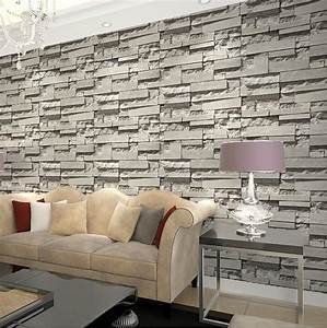 imported south korea designs super 3d stone wallpaper for ...