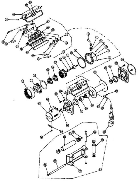 diagram warn winch x8000i wiring diagram