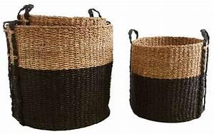 Cache Pot Haut : cache pot ronds en jonc de mer lot de 3 ~ Teatrodelosmanantiales.com Idées de Décoration