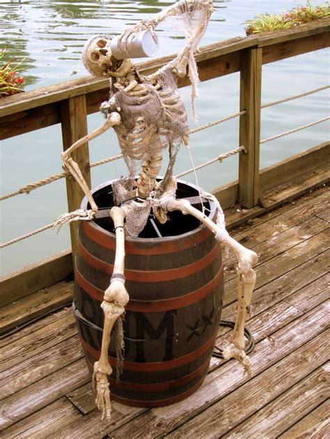 Pirate Decoration Ideas - indoor outdoor skeleton decorations ideas