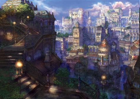 anime architecture wallpapers hd desktop  mobile