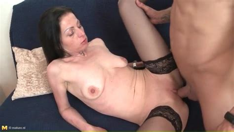 Skinny Mature With Saggy Tits Fucked Hardcore Mature Porn