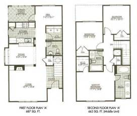 two story home plans modern town house two story house plans three bedrooms rugdots