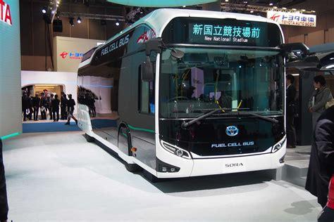 toyota sora   tokyo bound hydrogen city bus autoguide