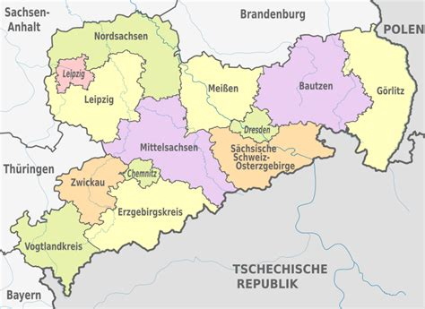 File:Saxony, administrative divisions - de - colored.svg ...